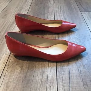 Ivanka Trump Patent Leather Flats 6M